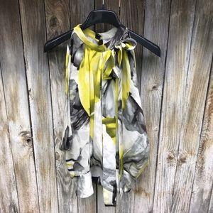 Robert Rodriguez Floral Silk Blouse